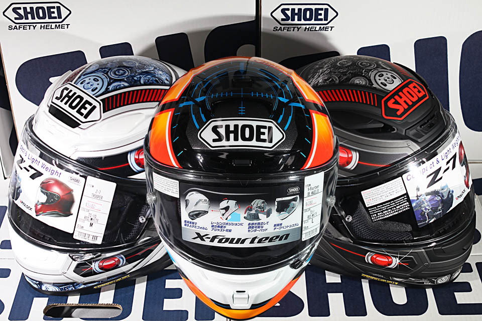 2018 Shoei X-14 De Angelis AND Z-7