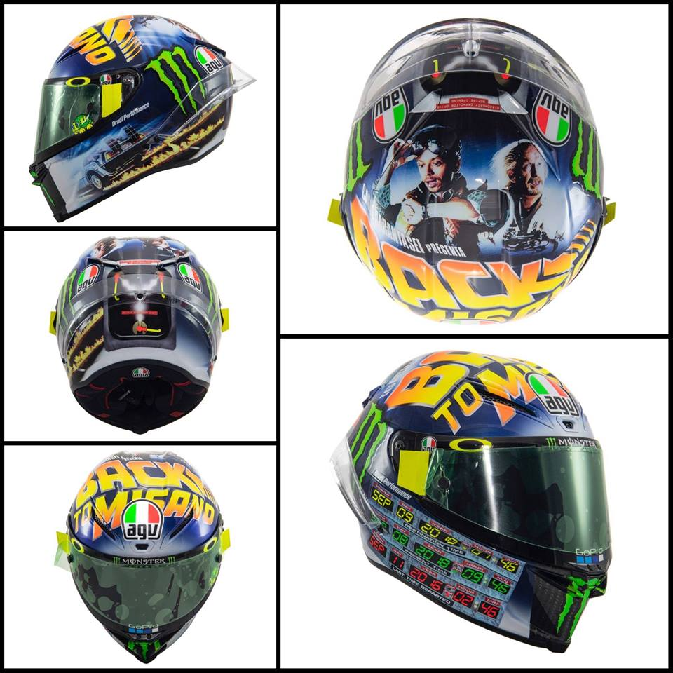 2018 ROSSI Back To Misano AGV PISTA GP R