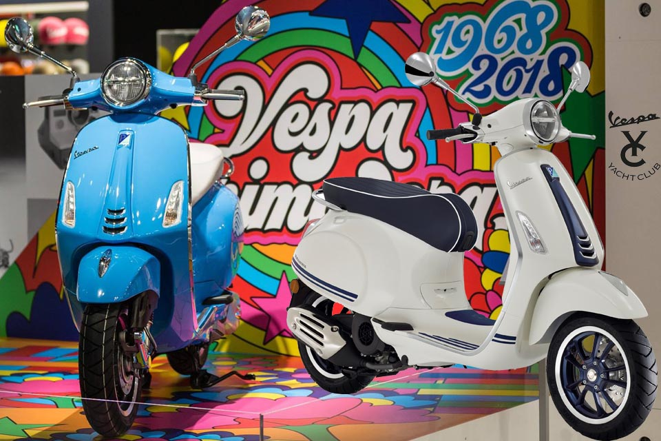 2019 Vespa Primavera 150 Yatch Club 50th Anniversary
