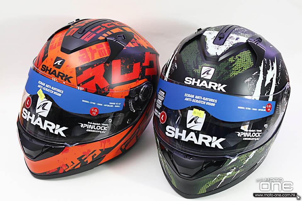 2018 SHARK D-SKWAL RIDILL helmets