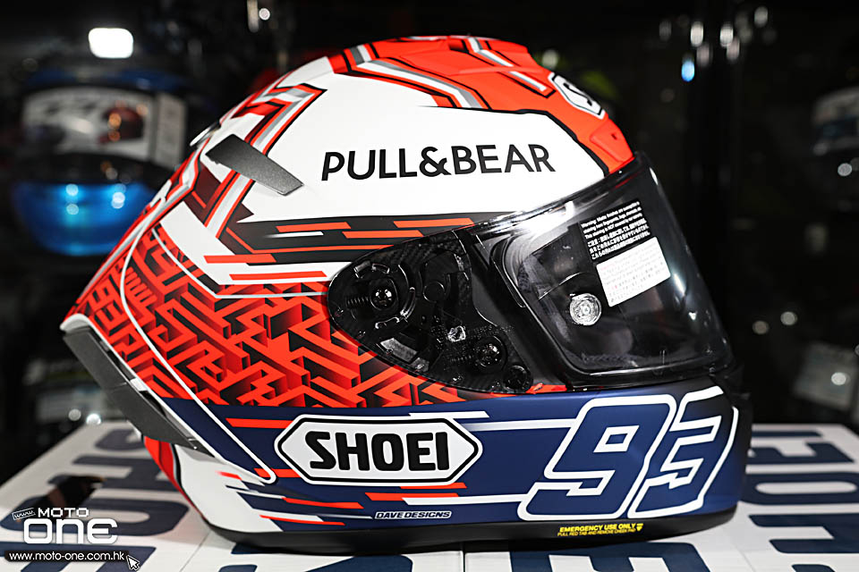 2018 SHOEI X-FOURTEEN MARQUEZ5