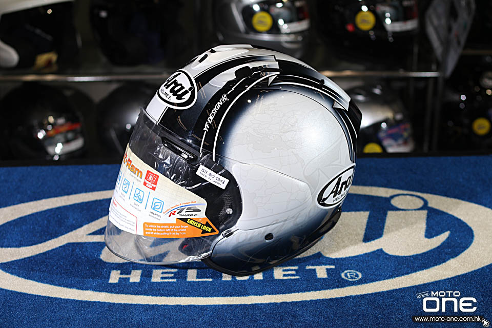 2018 ARAI VZ-RAM HARADA TOUR BLACK WHITE