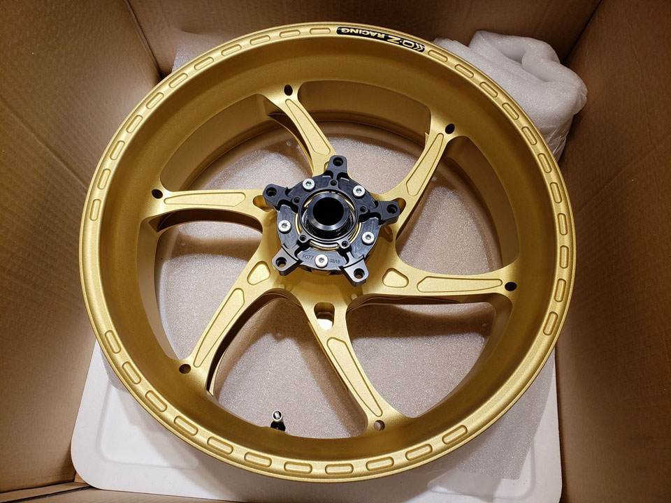 2018 OZ racing forged wheel for 17 YZF-R6