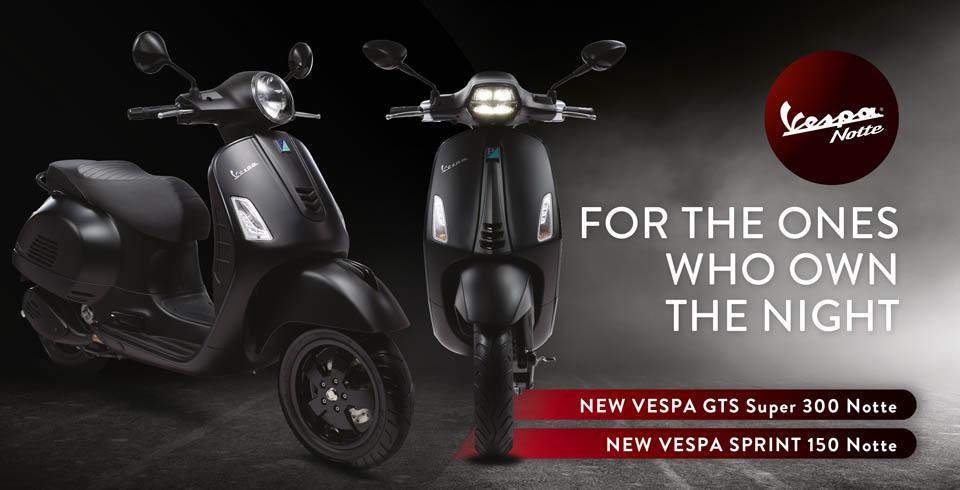 2019 VESPA NOTTE GTS300 Sprint 150