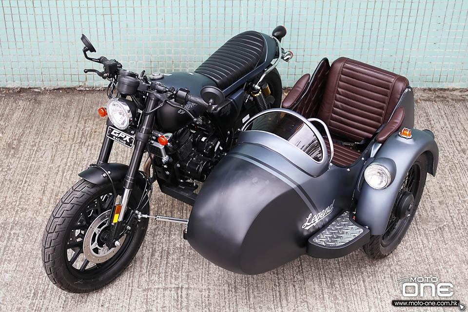 2019 GPX Legend 200 Sidecar