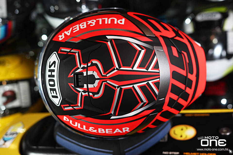 2019 SHOEI X-14 MARQUEZ BLACK CONCEPT