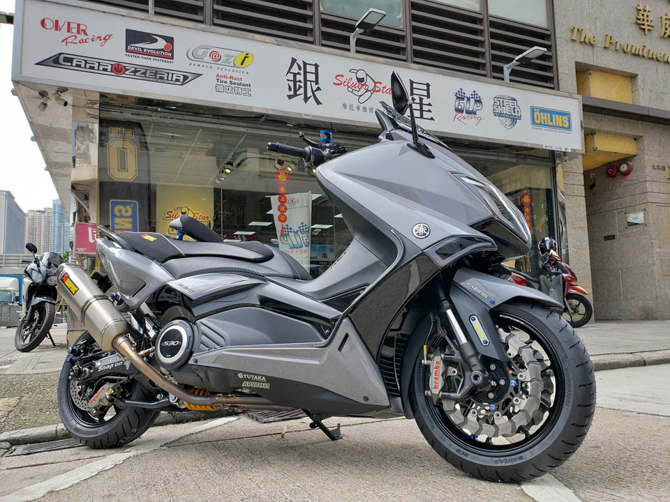 2019 Tmax530 Over racing