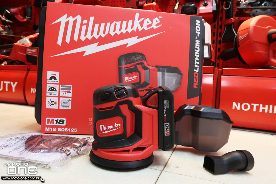 2019 MILWAUKEE M18 RANDOM ORBITAL SANDER