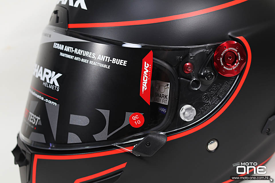 2019 SHARK RACE R PRO GP WINTER TEST SPARTAN CARBON LORENZO