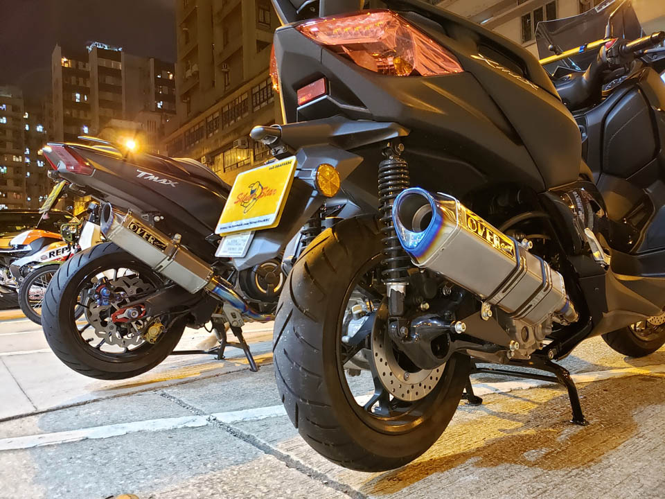 2019 TMAX530 XMAX Over Racing TT-RS full power version