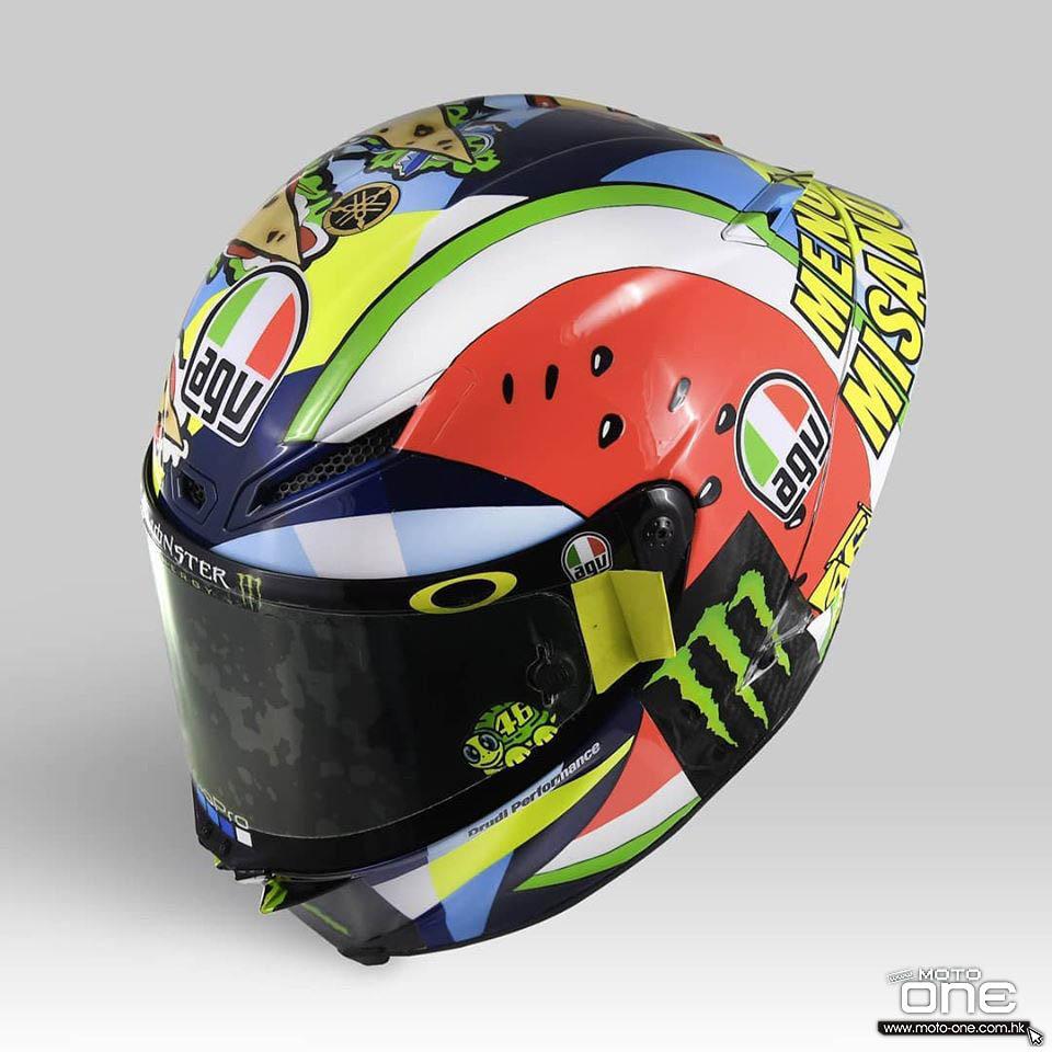 2019 helmet rossi