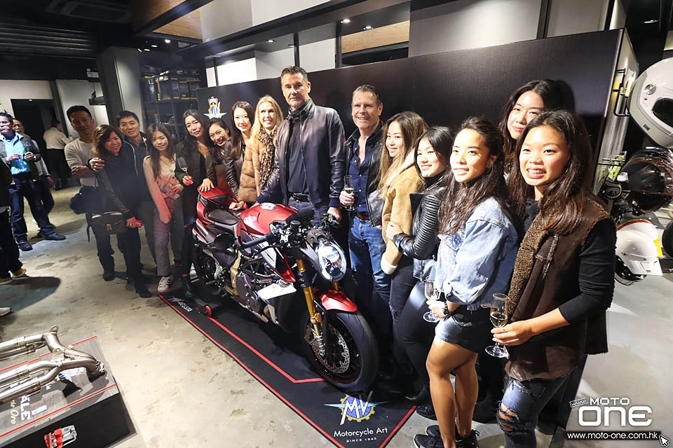 2020 MV Agusta Brutale 1000 Serie Oro Launch Party