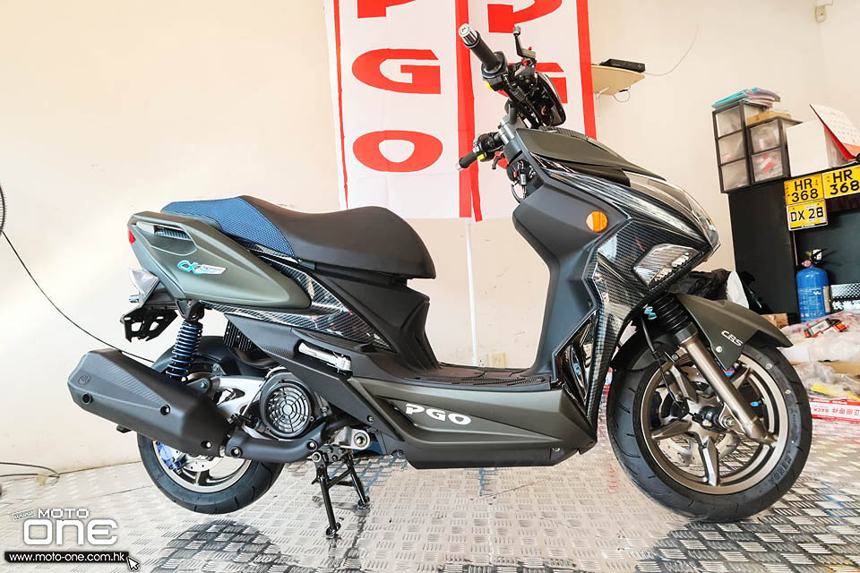 2020 PGO ALPHA MAX 125 Naked
