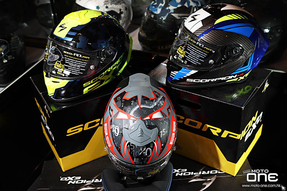 2020 Scorpion EXO-R1 AIR HELMETS