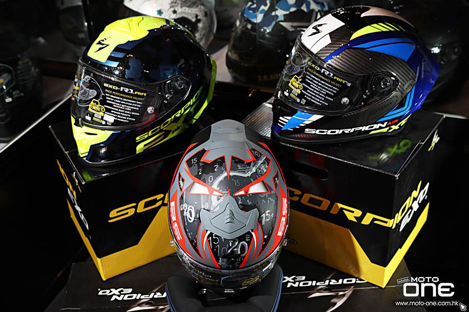 2020 Scorpion EXO-R1 AIR HELMETS