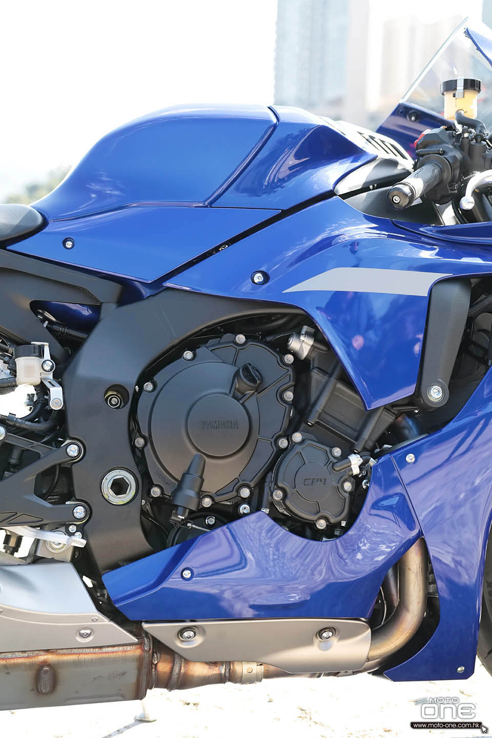 2020 YAMAHA YZF-R1 TEST RIDE