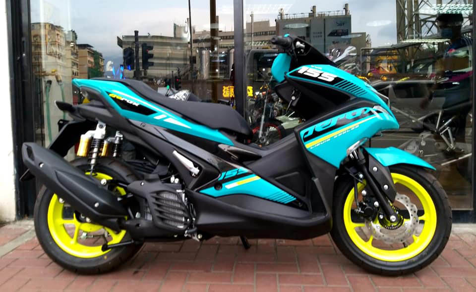 YAMAHA AEROX155 R Version