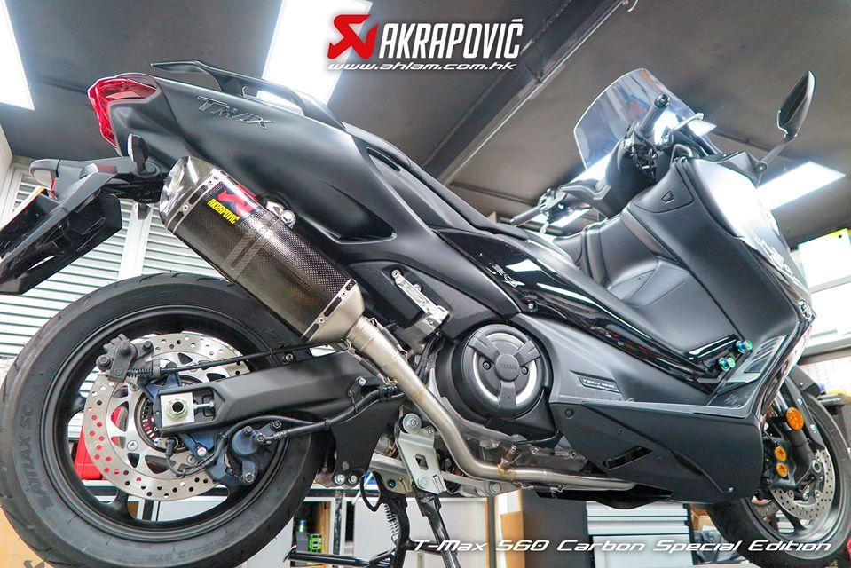 2020 Akrapovic Yamaha T-Max 560