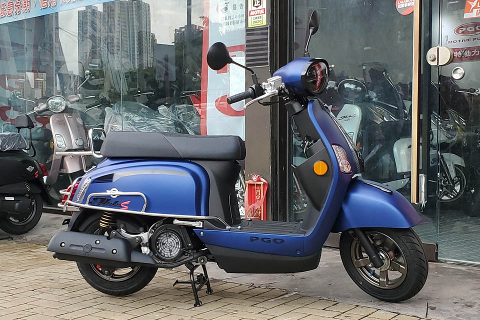 2020 PGO J BuBu 125 ABS Blue