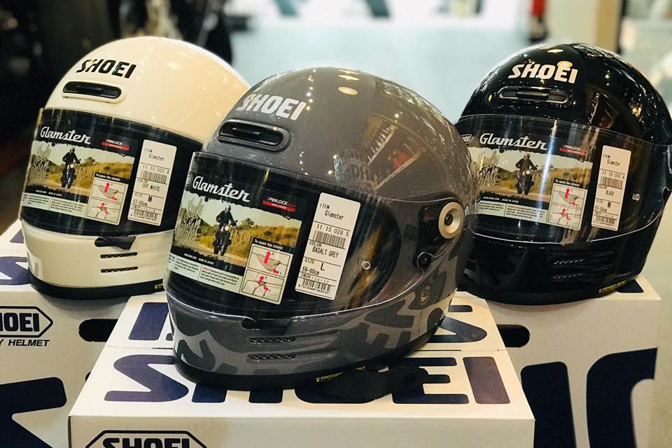 2020 SHOEI GLAMSTER