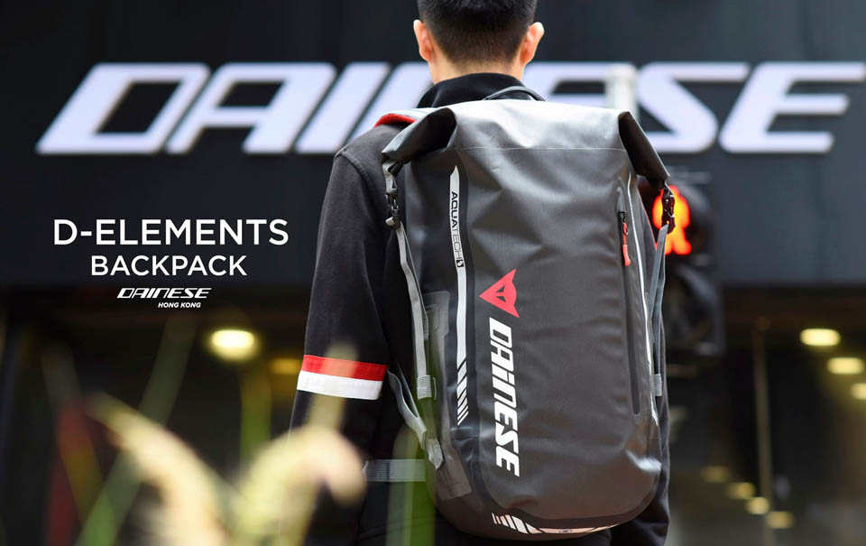 2020 DAINESE IMPETO GLOVES D-ELEMENTS BACK PACK