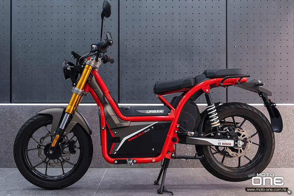 2020 Rieju Nuuk scooter