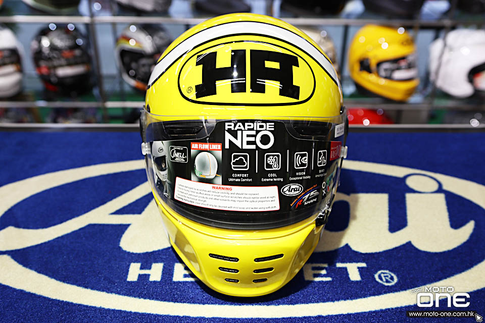 2020 ARAI RAPIDE-NEO HA YELLOW