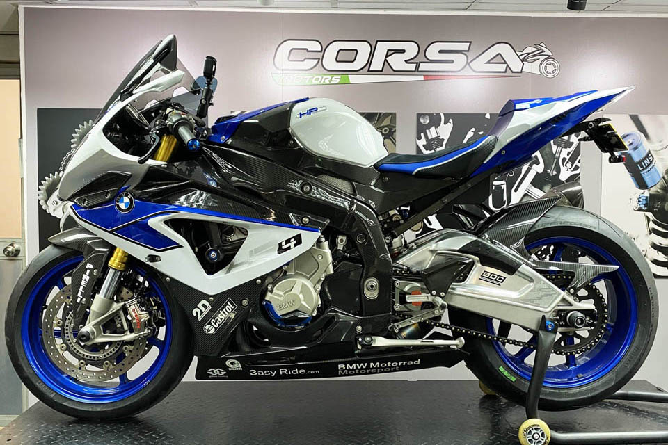 2020 BMW HP4 Modification CORSA MOTORS