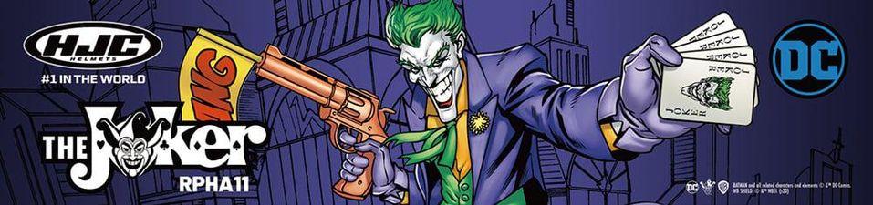 2020 HJC x DC RPHA 11 Joker