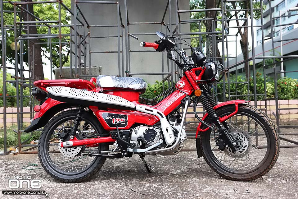 2020 Honda CT125 City Trial Limited edition
