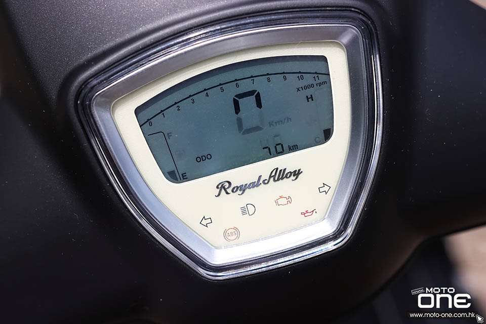 2020 Royal Alloy GP300 LC ABS