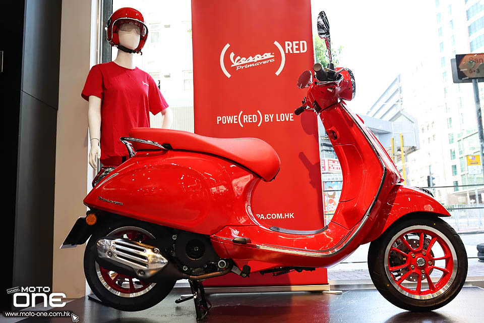 2020 Vespa Primavera X Product RED