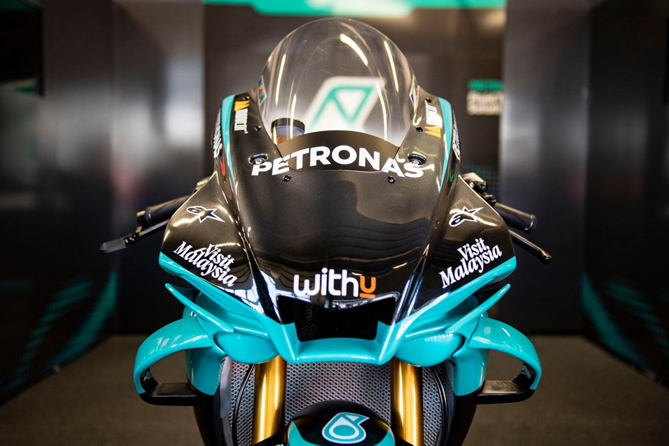 Petronas SRT Yamaha replica YZF-R1 limited edition