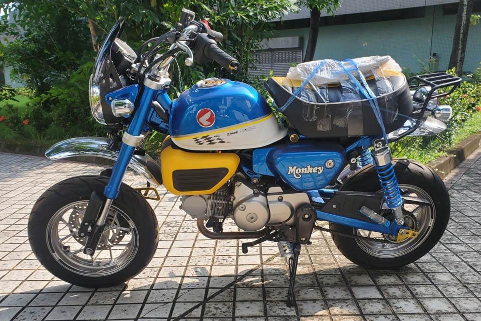 2019 Honda Monkey 125 MORIWAKI x H2C