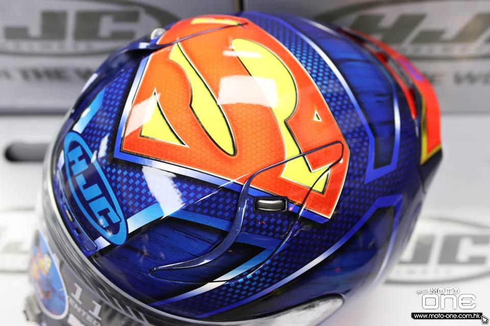 2020 HJC x DC RPHA 11 SUPERMAN
