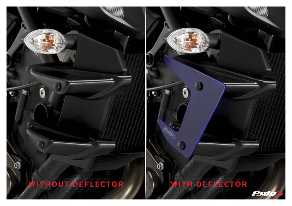 YAMAHA MT-07 DOWNFORCE NAKED SPOILERS