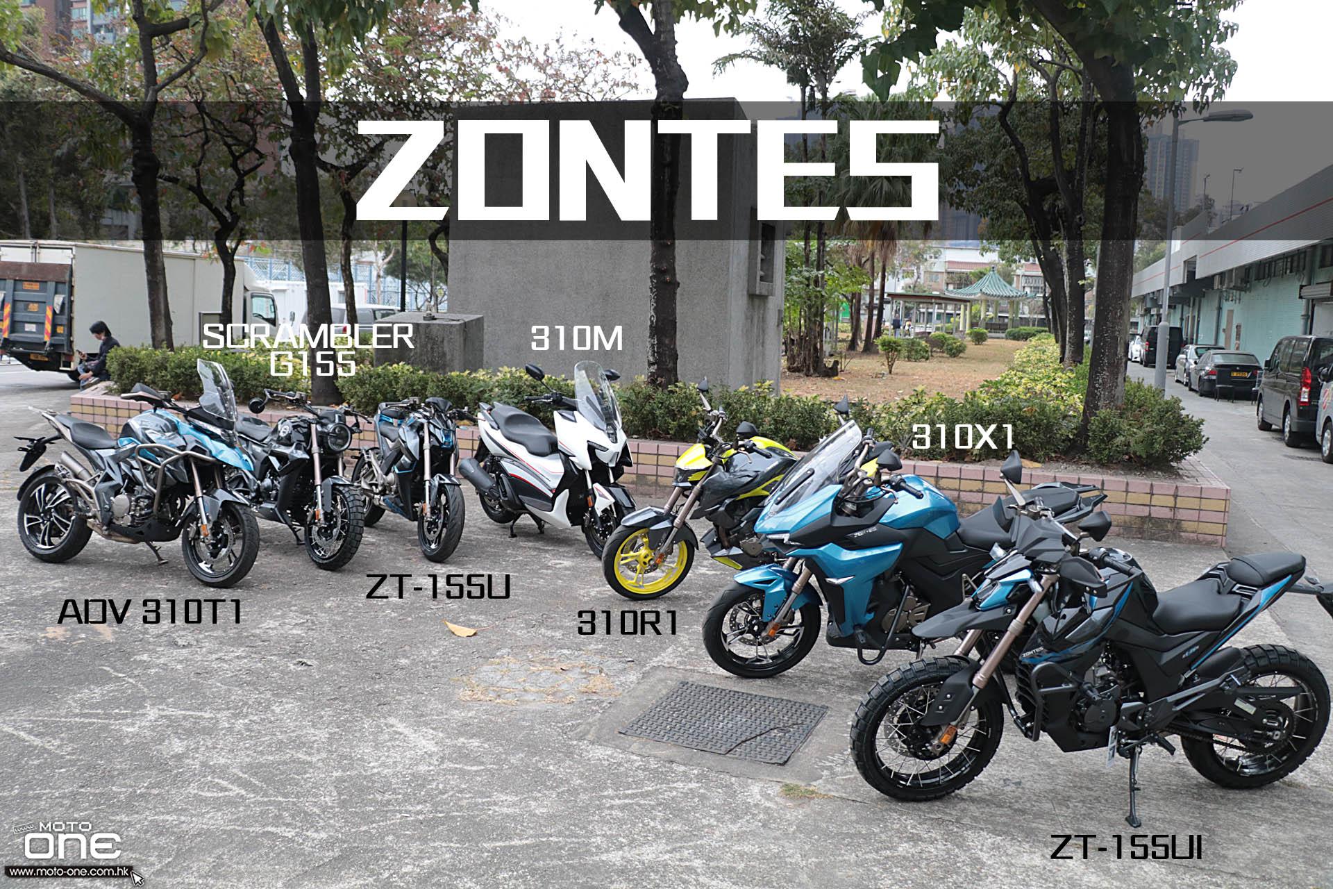 2021 ZONTES ADV 310T1