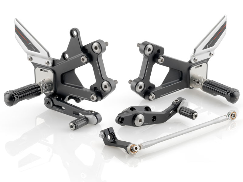 Rizoma - Rear Set Control Kit (CORSA)